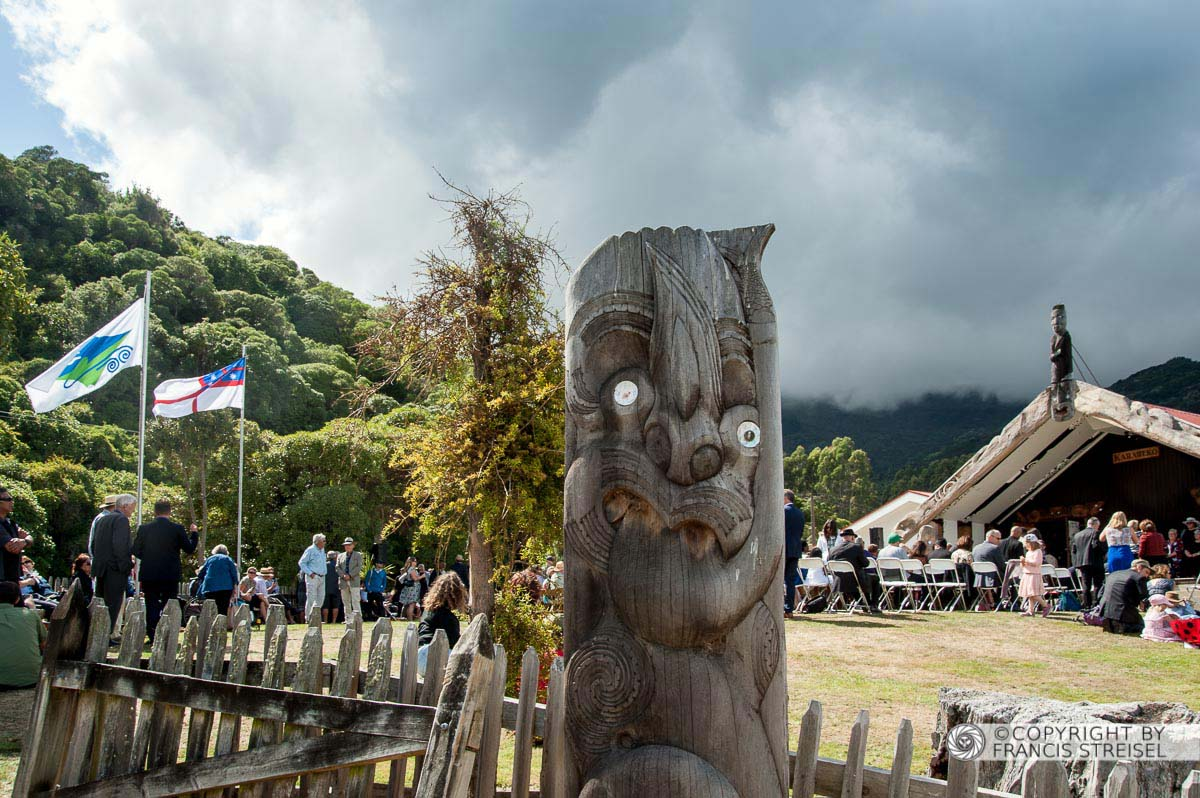 A image - Po at front of wharenui